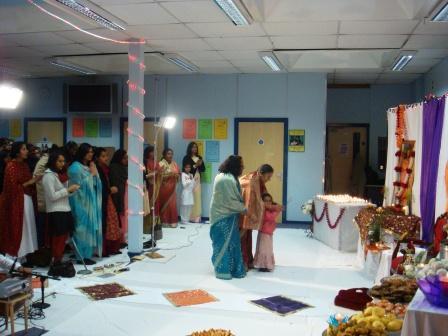 Diwali 2008 for Aarti dish decoration